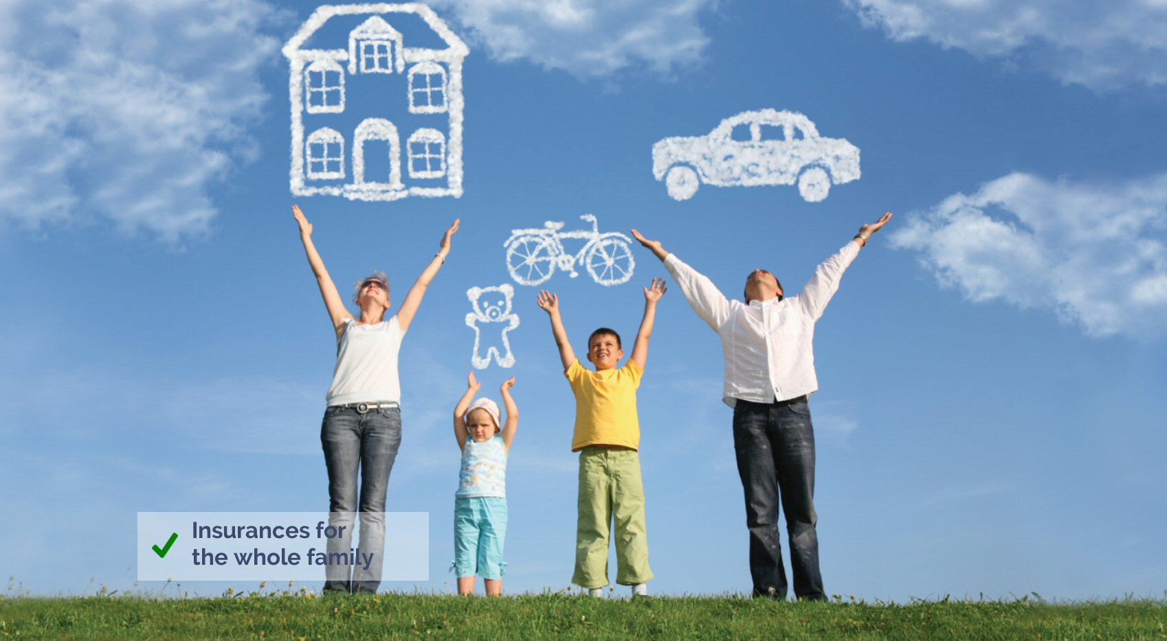 Insurances in Spain for the whole family